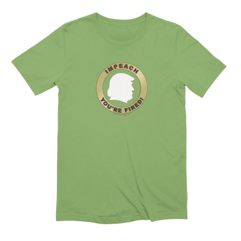Impeach Shirts n More Men's Extra Soft T-Shirt by Leading Artist Shop