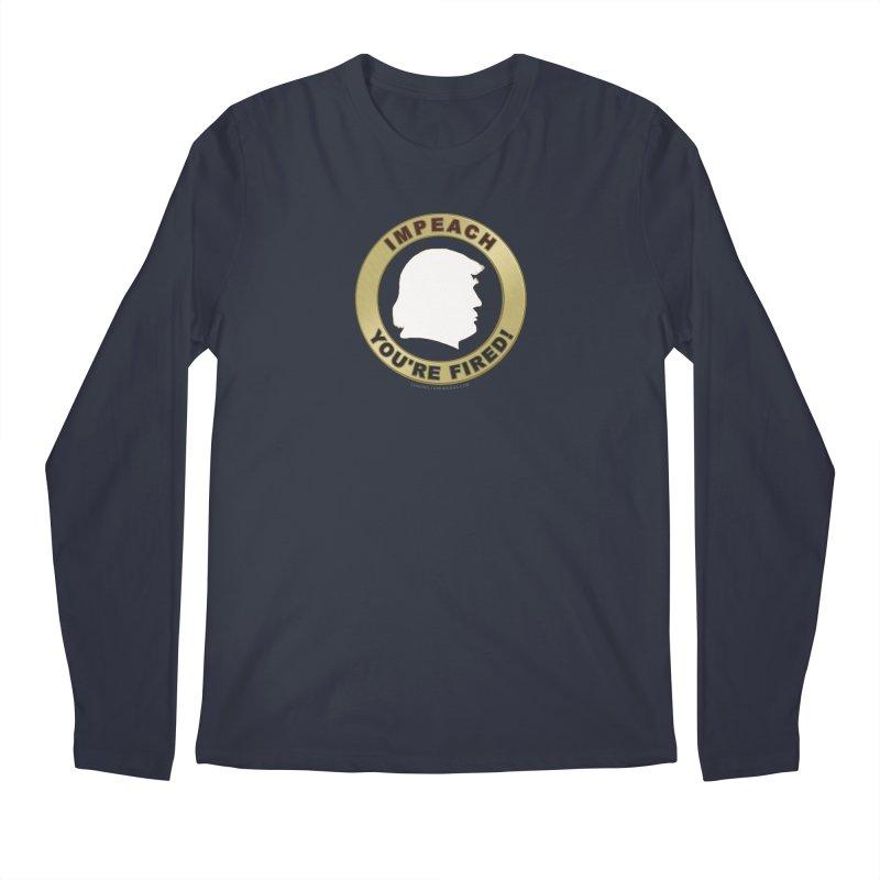 Impeach Shirts n More Men's Regular Longsleeve T-Shirt by Leading Artist Shop