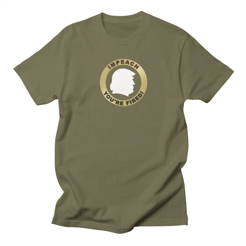 Impeach Shirts n More Men's Regular T-Shirt by Leading Artist Shop