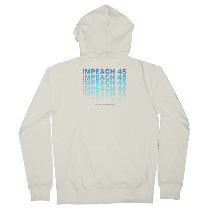 Impeach | Awesome Shirts Women's French Terry Zip-Up Hoody by Leading Artist Shop