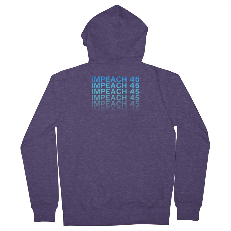 Impeach | Awesome Shirts Men's French Terry Zip-Up Hoody by Leading Artist Shop