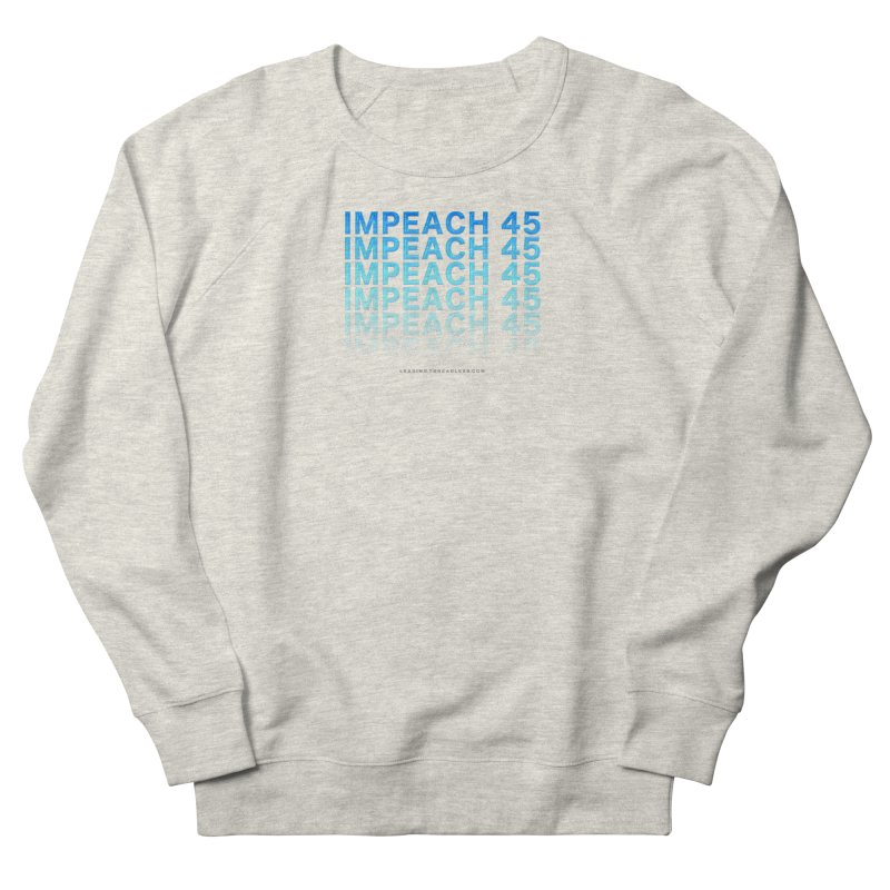 Impeach | Awesome Shirts Men's French Terry Sweatshirt by Leading Artist Shop