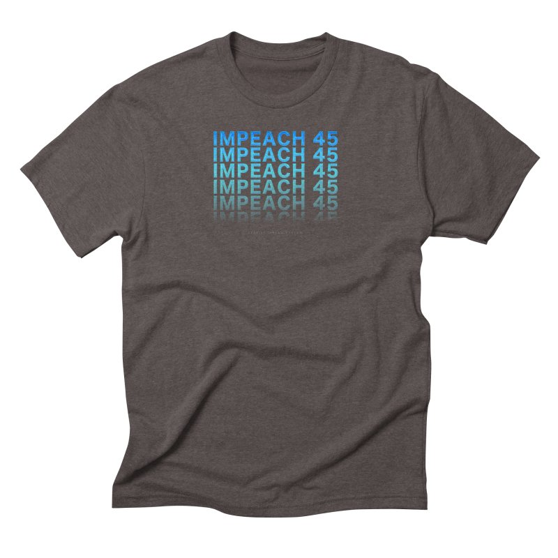 Impeach | Awesome Shirts Men's Triblend T-Shirt by Leading Artist Shop