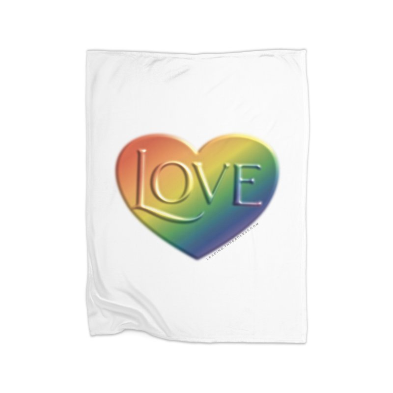 Love Shirts and More Home Fleece Blanket Blanket by Leading Artist Shop