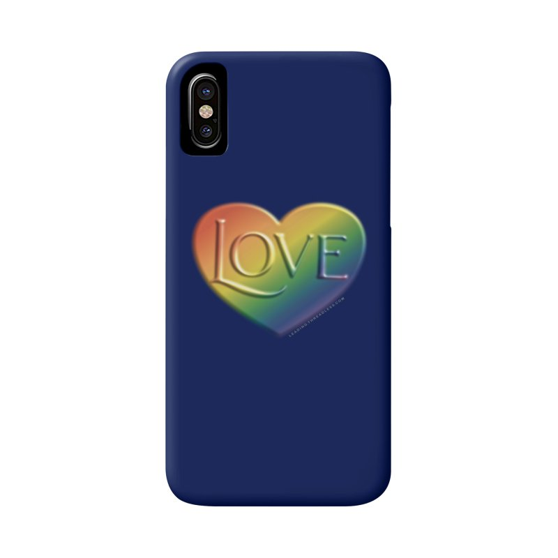 Love Shirts and More Accessories Phone Case by Leading Artist Shop