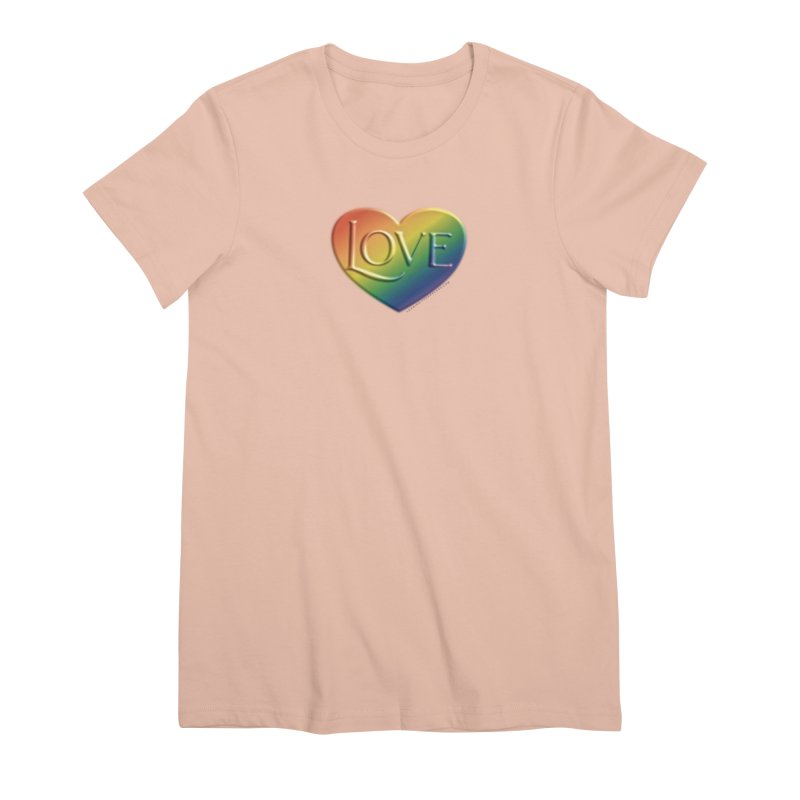 Love Shirts and More Women's Premium T-Shirt by Leading Artist Shop