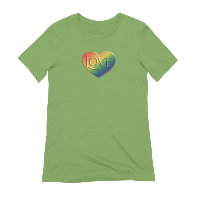 Love Shirts and More Women's Extra Soft T-Shirt by Leading Artist Shop