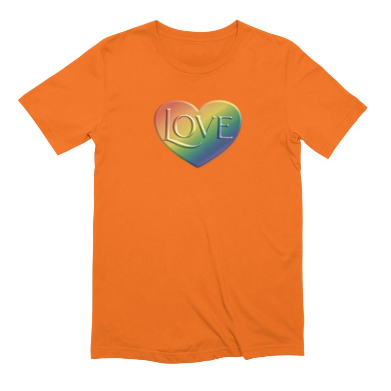 Love Shirts and More Men's Extra Soft T-Shirt by Leading Artist Shop
