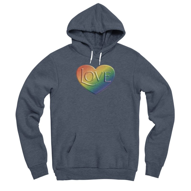 Love Shirts and More Men's Sponge Fleece Pullover Hoody by Leading Artist Shop