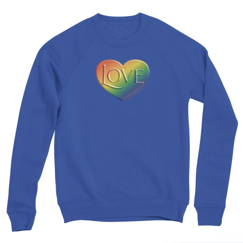 Love Shirts and More Men's Sponge Fleece Sweatshirt by Leading Artist Shop