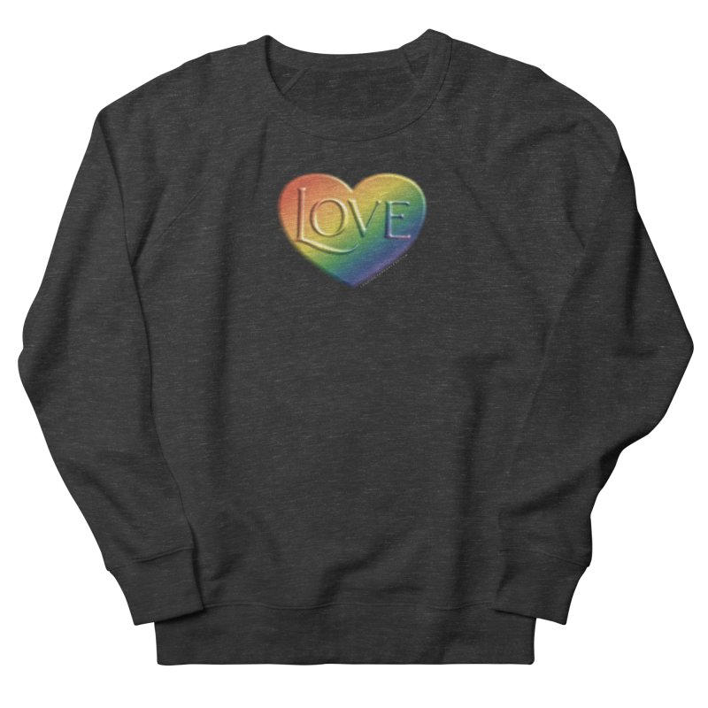 Love Shirts and More Men's French Terry Sweatshirt by Leading Artist Shop