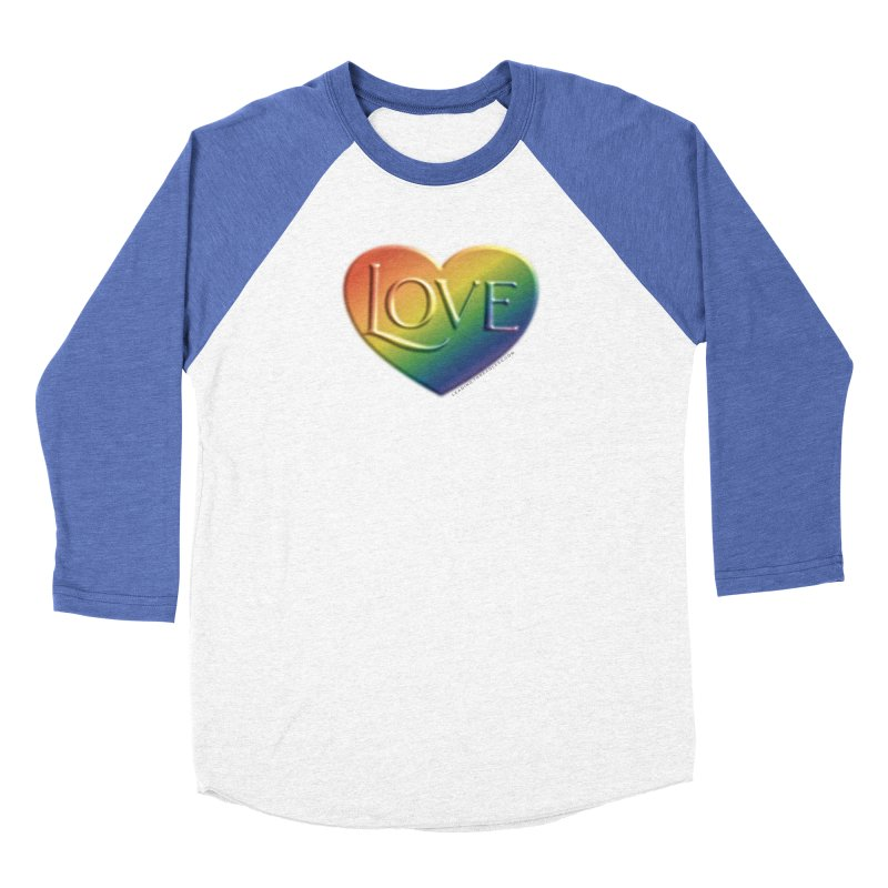 Love Shirts and More Women's Baseball Triblend Longsleeve T-Shirt by Leading Artist Shop