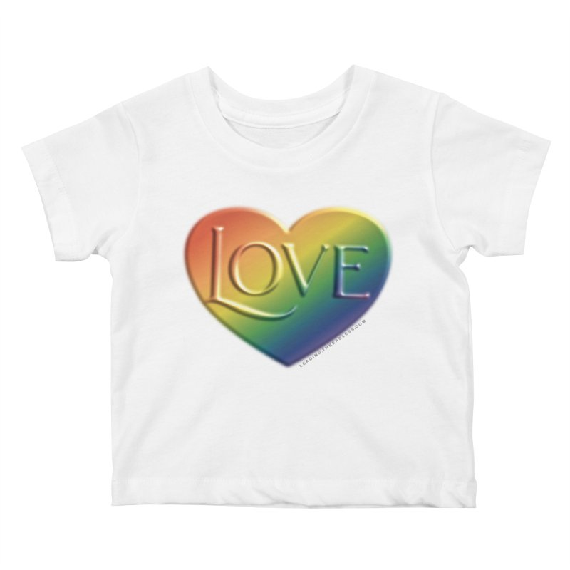 Love Shirts and More Kids Baby T-Shirt by Leading Artist Shop