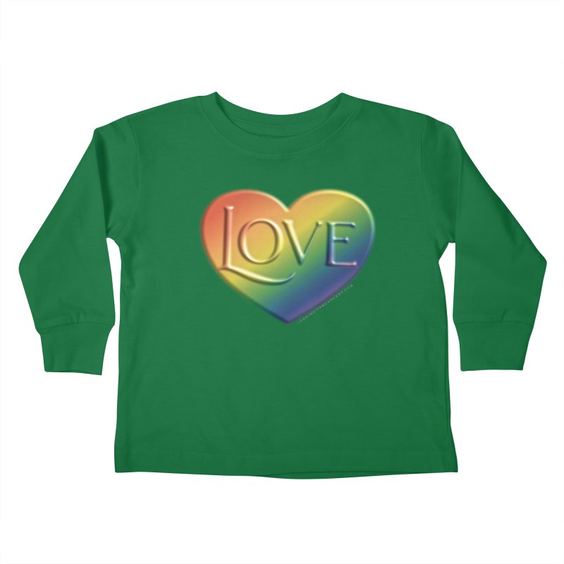Love Shirts and More Kids Toddler Longsleeve T-Shirt by Leading Artist Shop