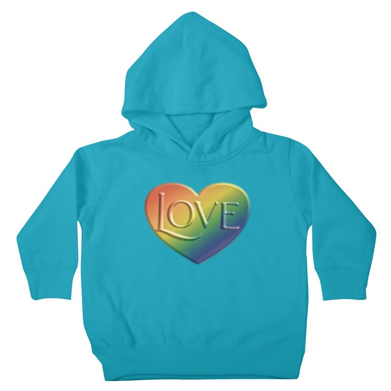 Love Shirts and More Kids Toddler Pullover Hoody by Leading Artist Shop