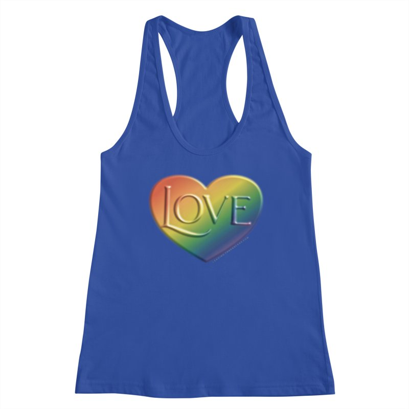 Love Shirts and More Women's Racerback Tank by Leading Artist Shop