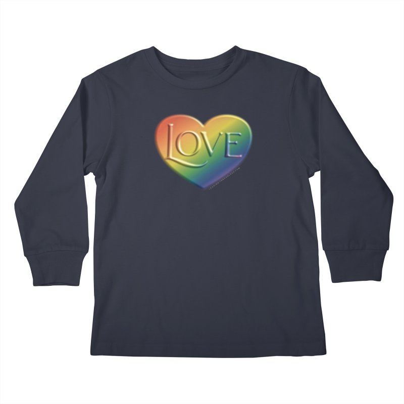 Love Shirts and More Kids Longsleeve T-Shirt by Leading Artist Shop