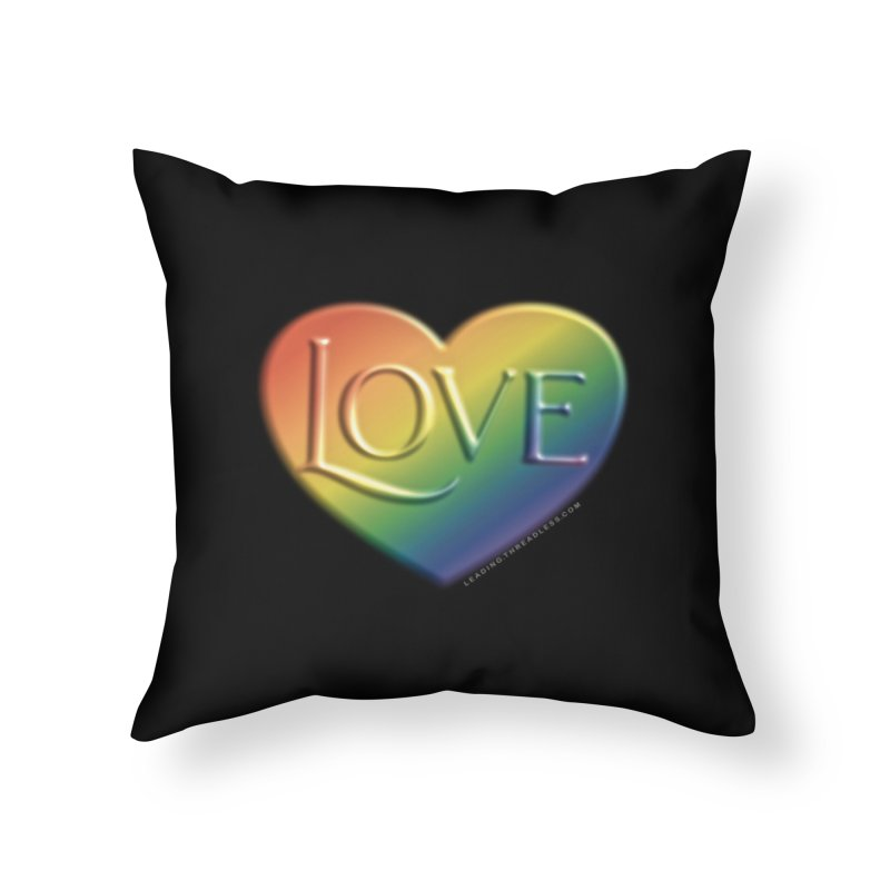 Love Shirts and More Home Throw Pillow by Leading Artist Shop
