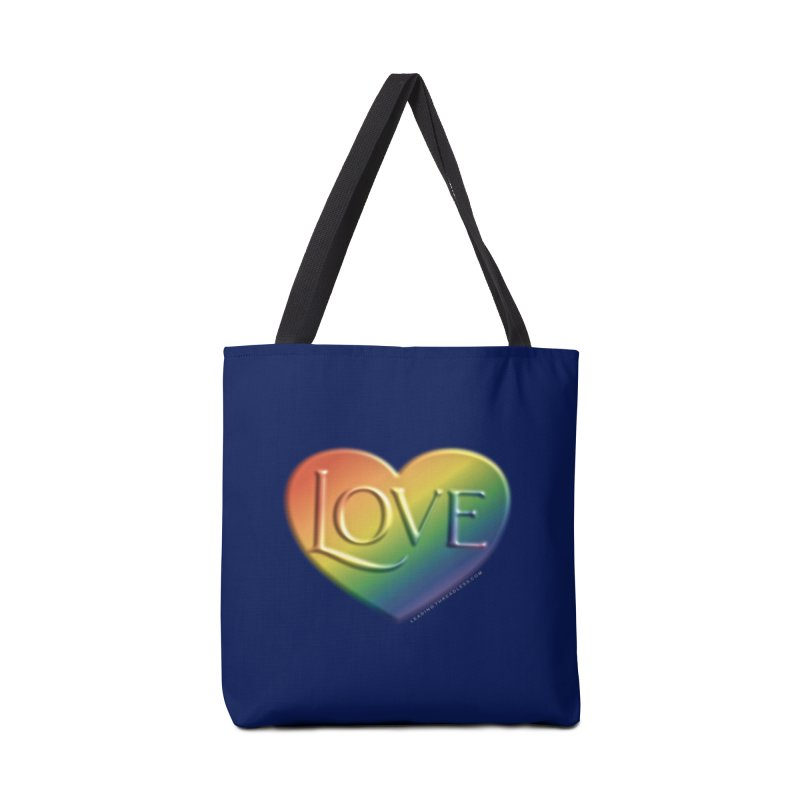 Love Shirts and More Accessories Tote Bag Bag by Leading Artist Shop