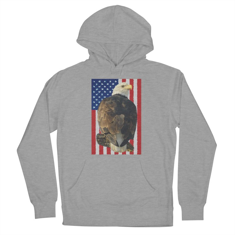 American Eagle Shirts n More - Amazingly Gorgeous Women's French Terry Pullover Hoody by Leading Artist Shop