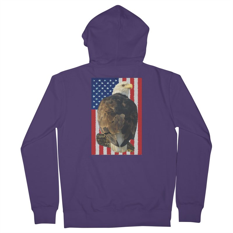 American Eagle Shirts n More - Amazingly Gorgeous Women's French Terry Zip-Up Hoody by Leading Artist Shop