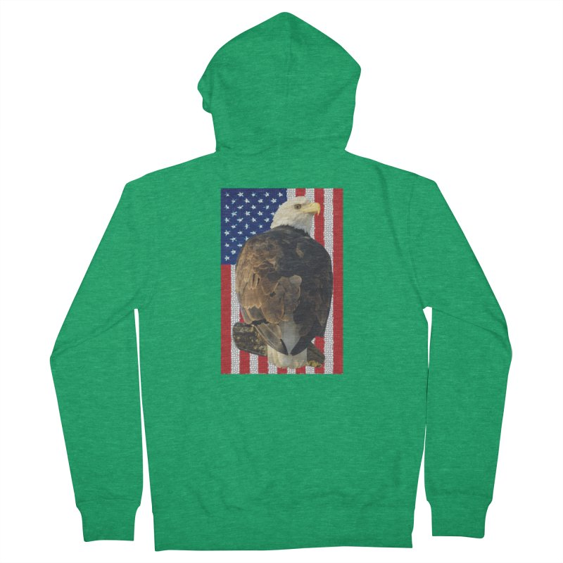 American Eagle Shirts n More - Amazingly Gorgeous Men's French Terry Zip-Up Hoody by Leading Artist Shop