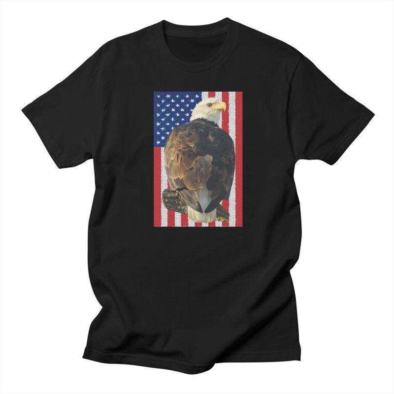 American Eagle Shirts n More - Amazingly Gorgeous Women's Regular Unisex T-Shirt by Leading Artist Shop