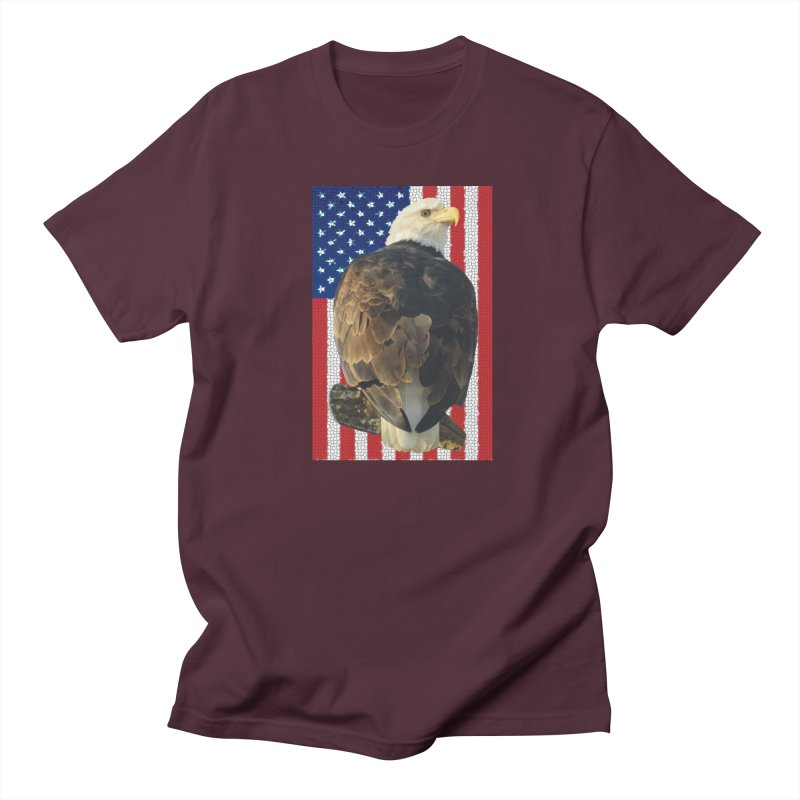 American Eagle Shirts n More - Amazingly Gorgeous Men's Regular T-Shirt by Leading Artist Shop