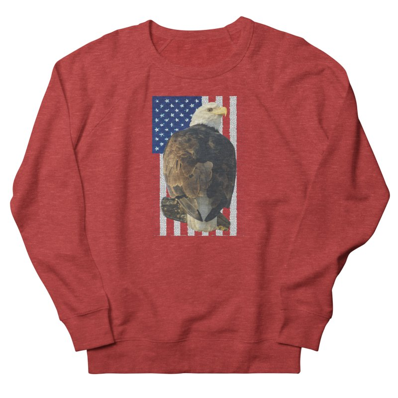 American Eagle Shirts n More - Amazingly Gorgeous Men's French Terry Sweatshirt by Leading Artist Shop