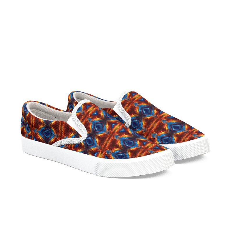 Southwest Shoe Design - Awesome One Of A Kind Women's Slip-On Shoes by Leading Artist Shop