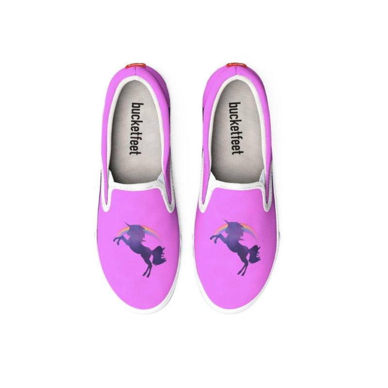 Unicorn Canvas Shoes Men Woman Sizes by Leading Artist Shop