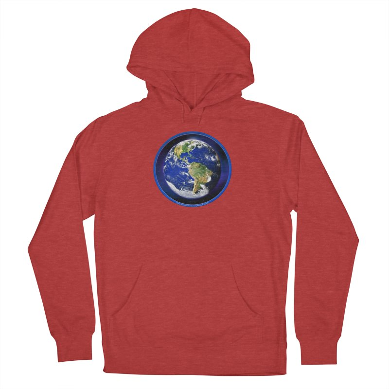 One Human Family - QCA Women's French Terry Pullover Hoody by Leading Artist Shop
