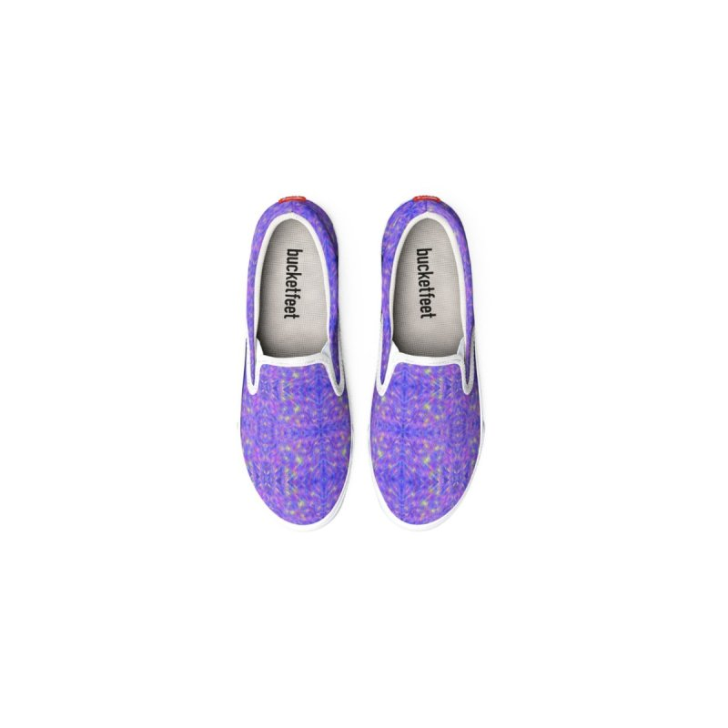 Stephanie Canvas Slip On Shoes by Leading Artist Shop