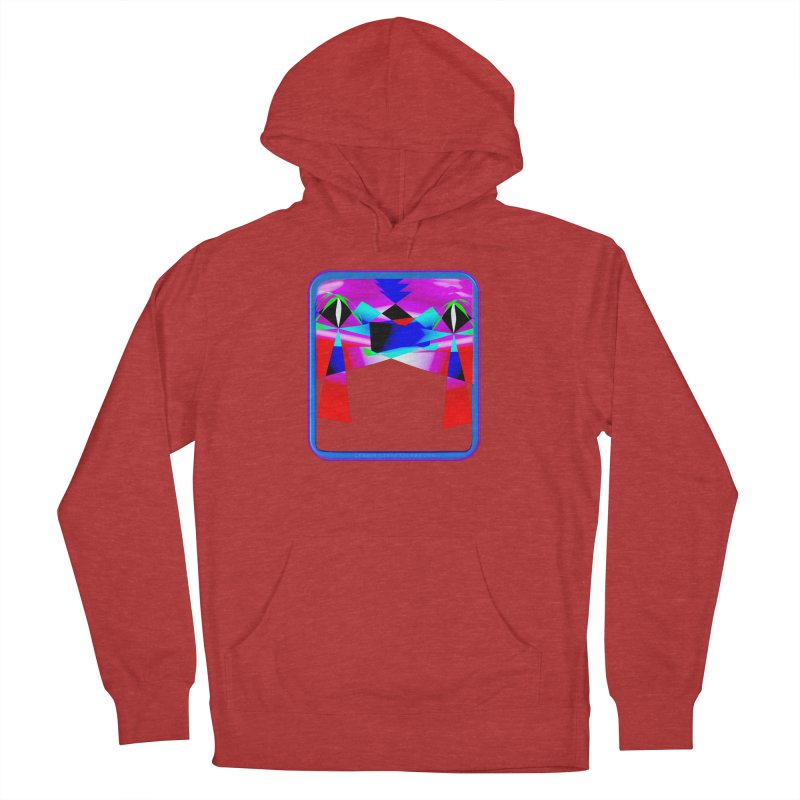 Abstract Paradise Shirts Women's French Terry Pullover Hoody by Leading Artist Shop