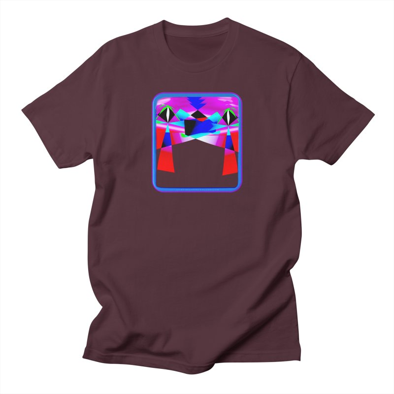 Abstract Paradise Shirts Men's Regular T-Shirt by Leading Artist Shop
