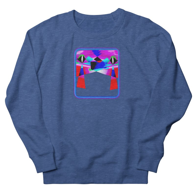 Abstract Paradise Shirts Men's French Terry Sweatshirt by Leading Artist Shop