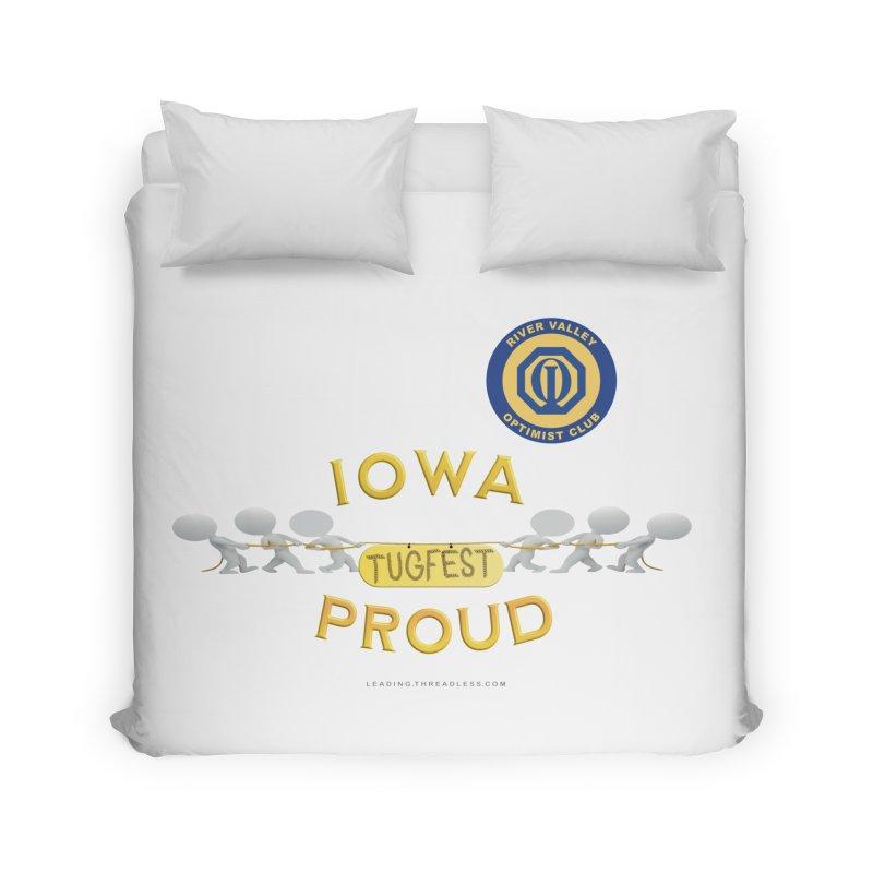 Tugfest Iowa Proud Home Duvet by Leading Artist Shop