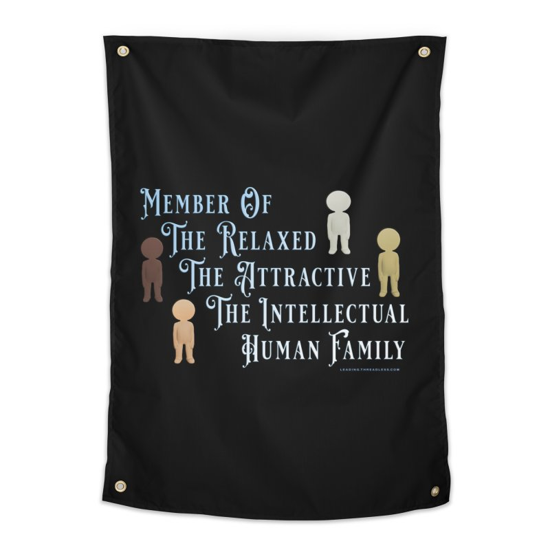 One Human Family Shirt Home Tapestry by Leading Artist Shop