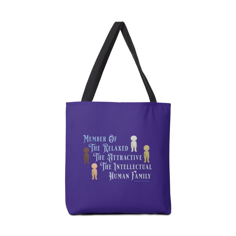 One Human Family Shirt Accessories Tote Bag Bag by Leading Artist Shop