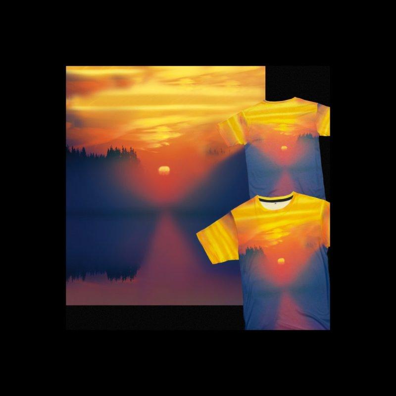 Solitude Ocean Sunset Shirt by Leading Artist Shop