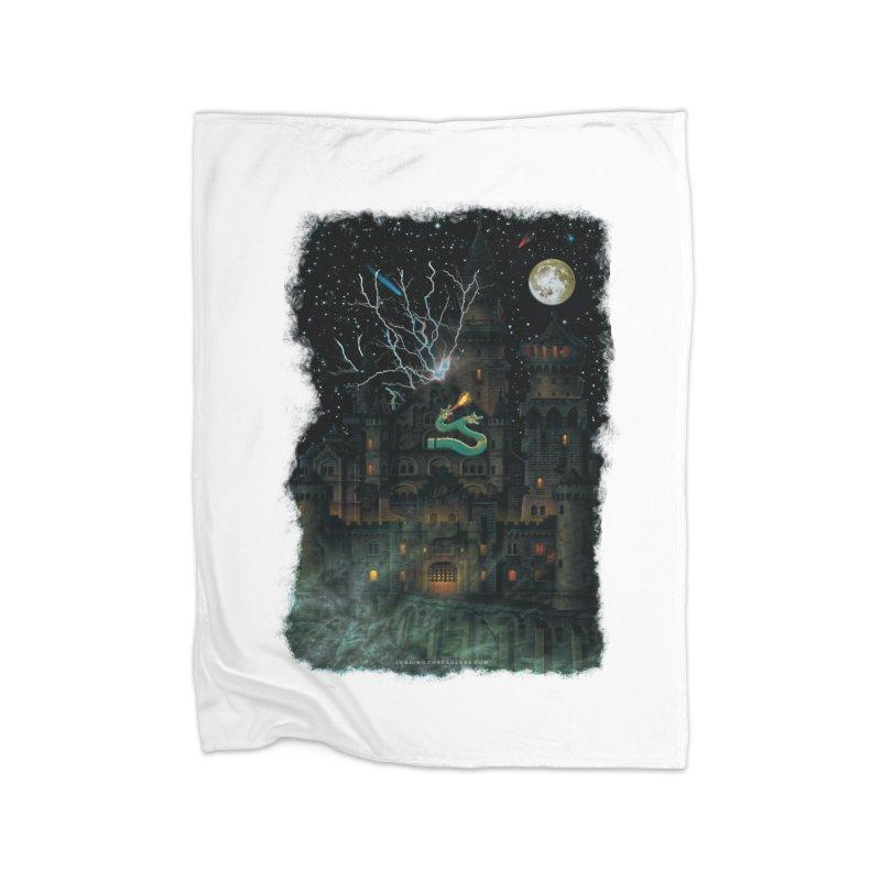 Amazing Halloween Shirt Home Fleece Blanket Blanket by Leading Artist Shop