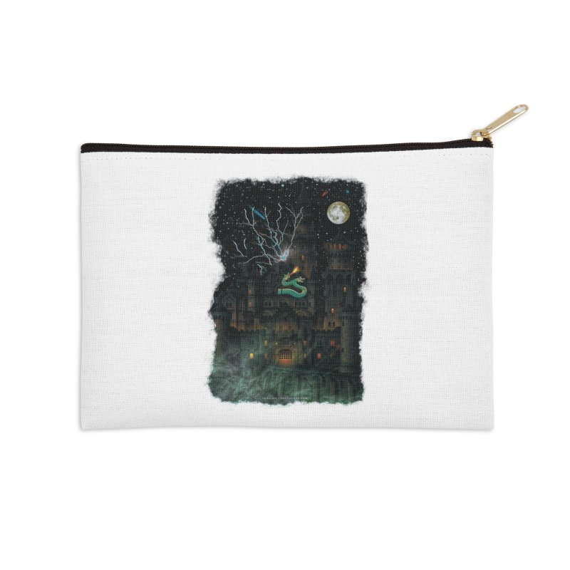 Amazing Halloween Shirt Accessories Zip Pouch by Leading Artist Shop