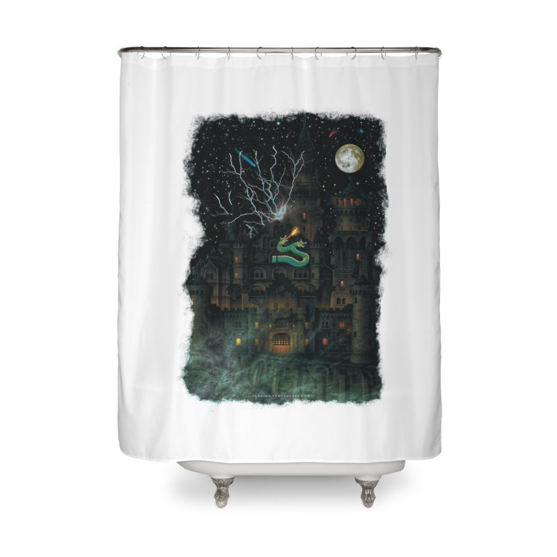 Amazing Halloween Shirt Home Shower Curtain by Leading Artist Shop