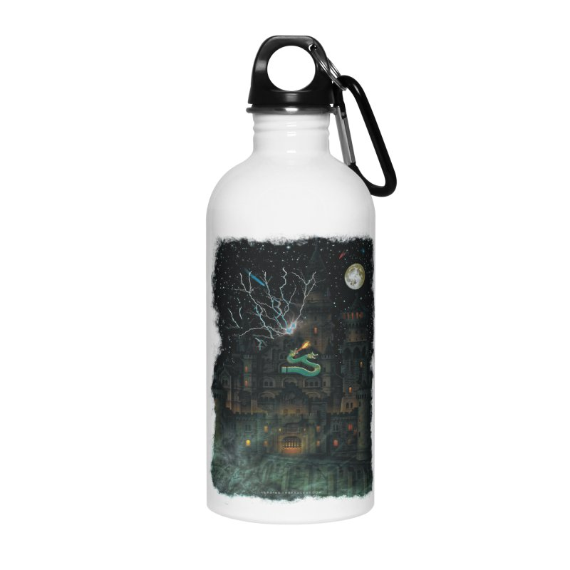 Amazing Halloween Shirt Accessories Water Bottle by Leading Artist Shop