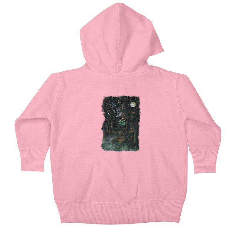 Amazing Halloween Shirt Kids Baby Zip-Up Hoody by Leading Artist Shop