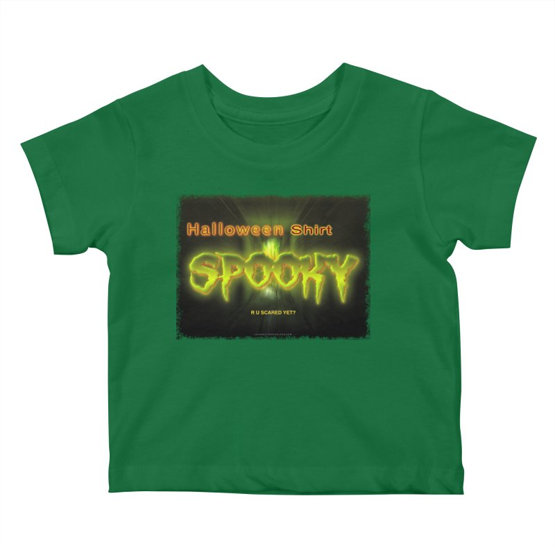 Funny Halloween Shirts Kids Baby T-Shirt by Leading Artist Shop