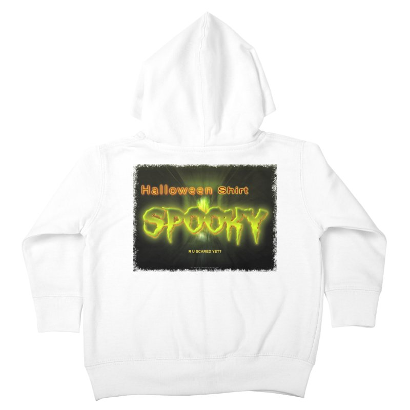 Funny Halloween Shirts Kids Toddler Zip-Up Hoody by Leading Artist Shop
