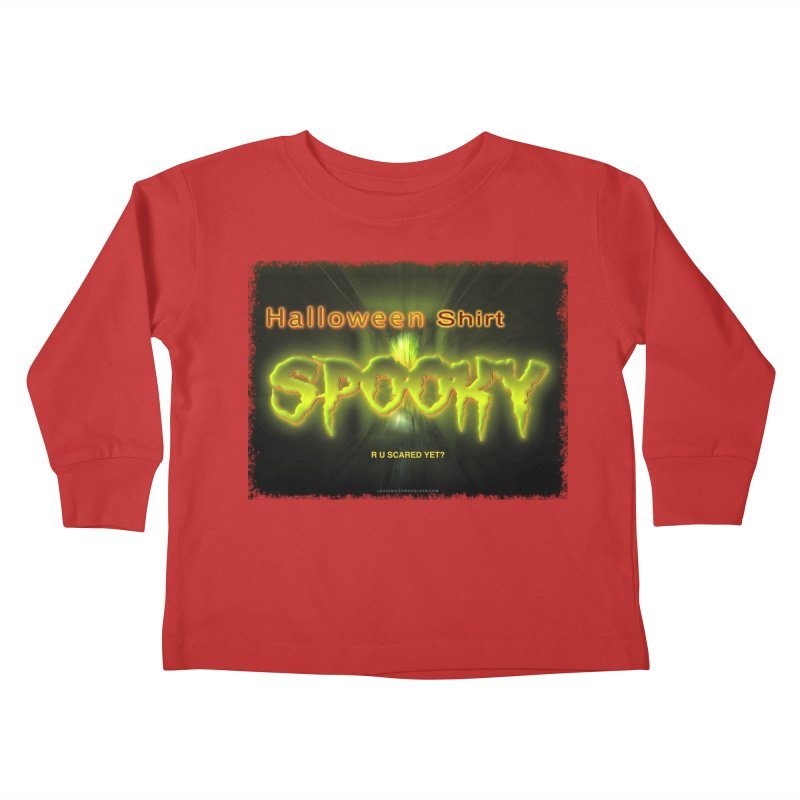 Funny Halloween Shirts Kids Toddler Longsleeve T-Shirt by Leading Artist Shop