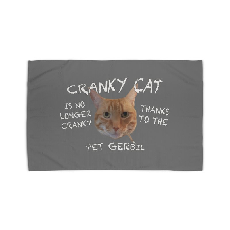 Cranky Cat Shirts n More Home Rug by Leading Artist Shop