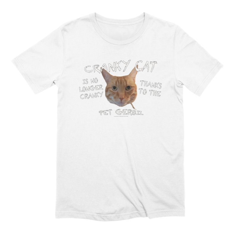 Cranky Cat Shirts n More Men's Extra Soft T-Shirt by Leading Artist Shop